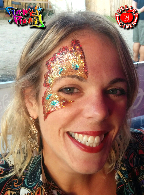 Fri Night Funky Punky Outcider Festival Glitter Eye