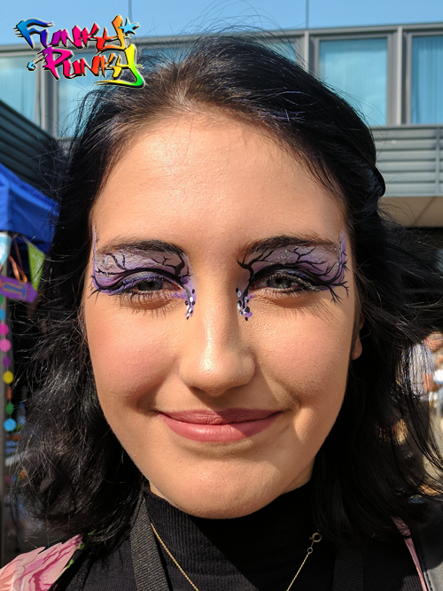 Halloween Eyes Funky Punky Bournemouth Poole College Freshers